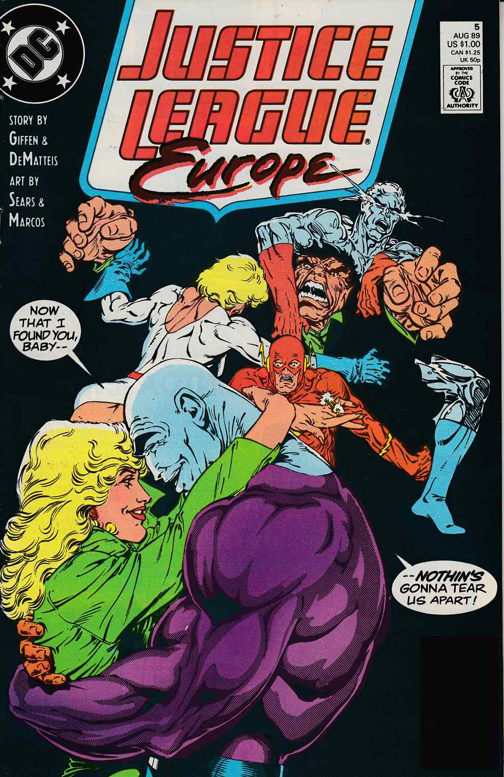 Justice League Europe #5 Very Fine (8.0) [DC Comic]_THUMBNAIL