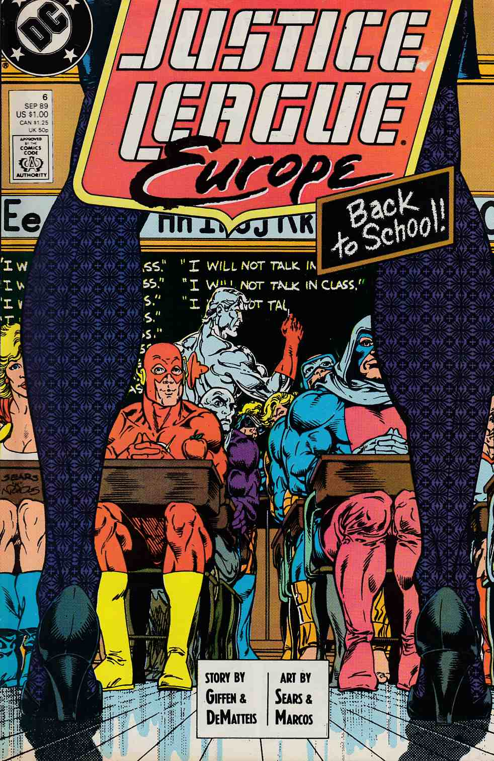 Justice League Europe #6 Fine (6.0) [DC Comic]_THUMBNAIL