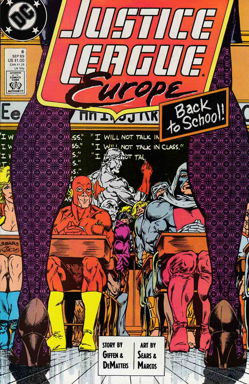 Justice League Europe #6 Very Fine (8.0) [DC Comic]_THUMBNAIL
