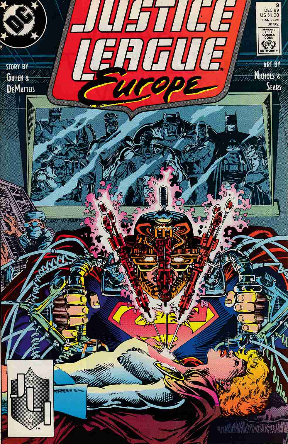 Justice League Europe #9 Near Mint (9.4) [DC Comic]_THUMBNAIL