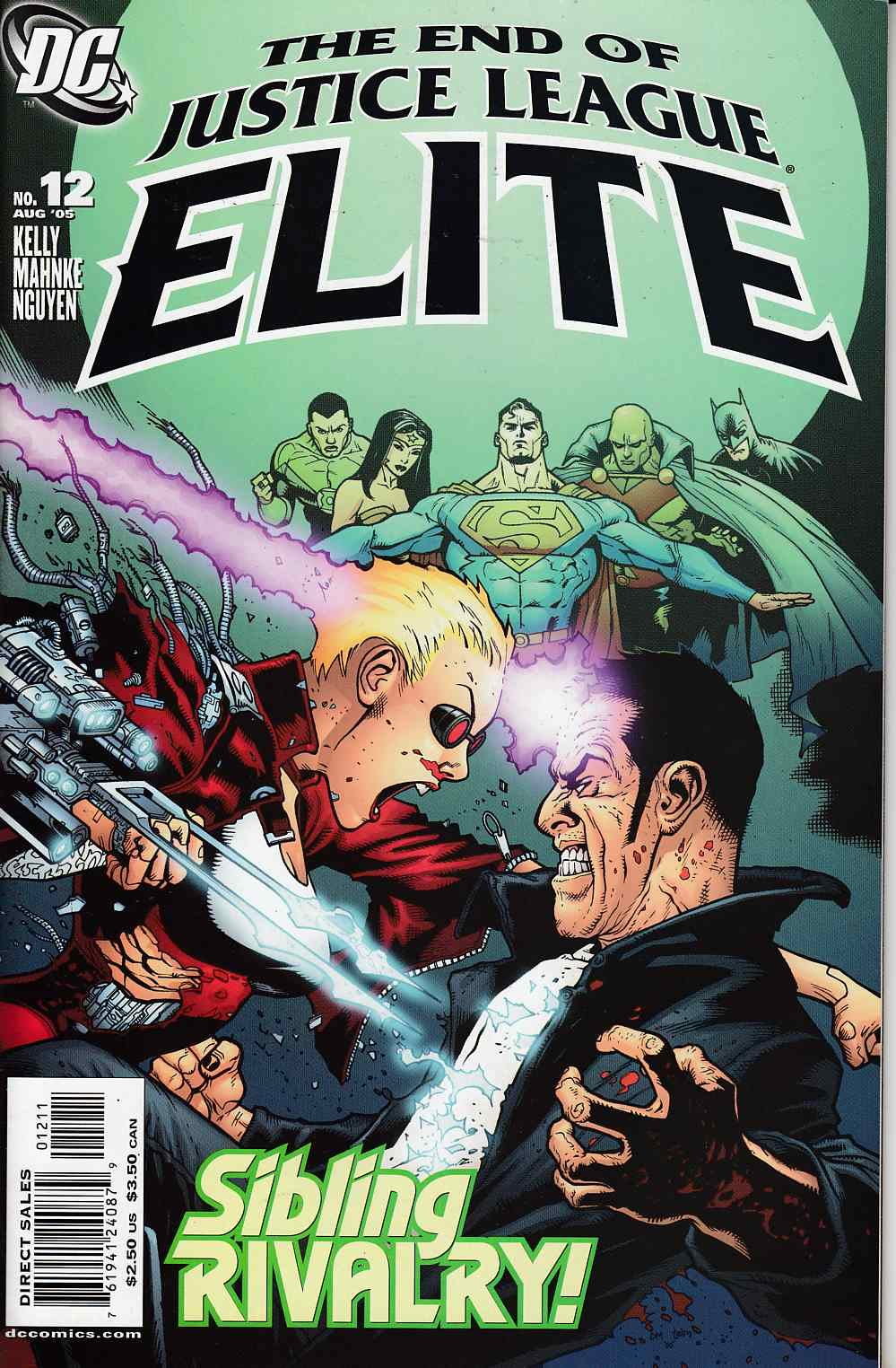 Justice League Elite #12 Near Mint (9.4) [DC Comic] THUMBNAIL