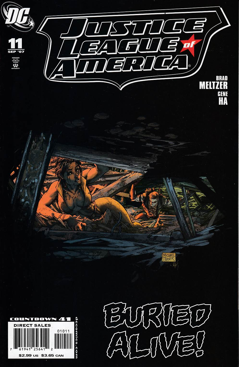 Justice League of America #11 Cover A Very Fine (8.0) [DC Comic] THUMBNAIL