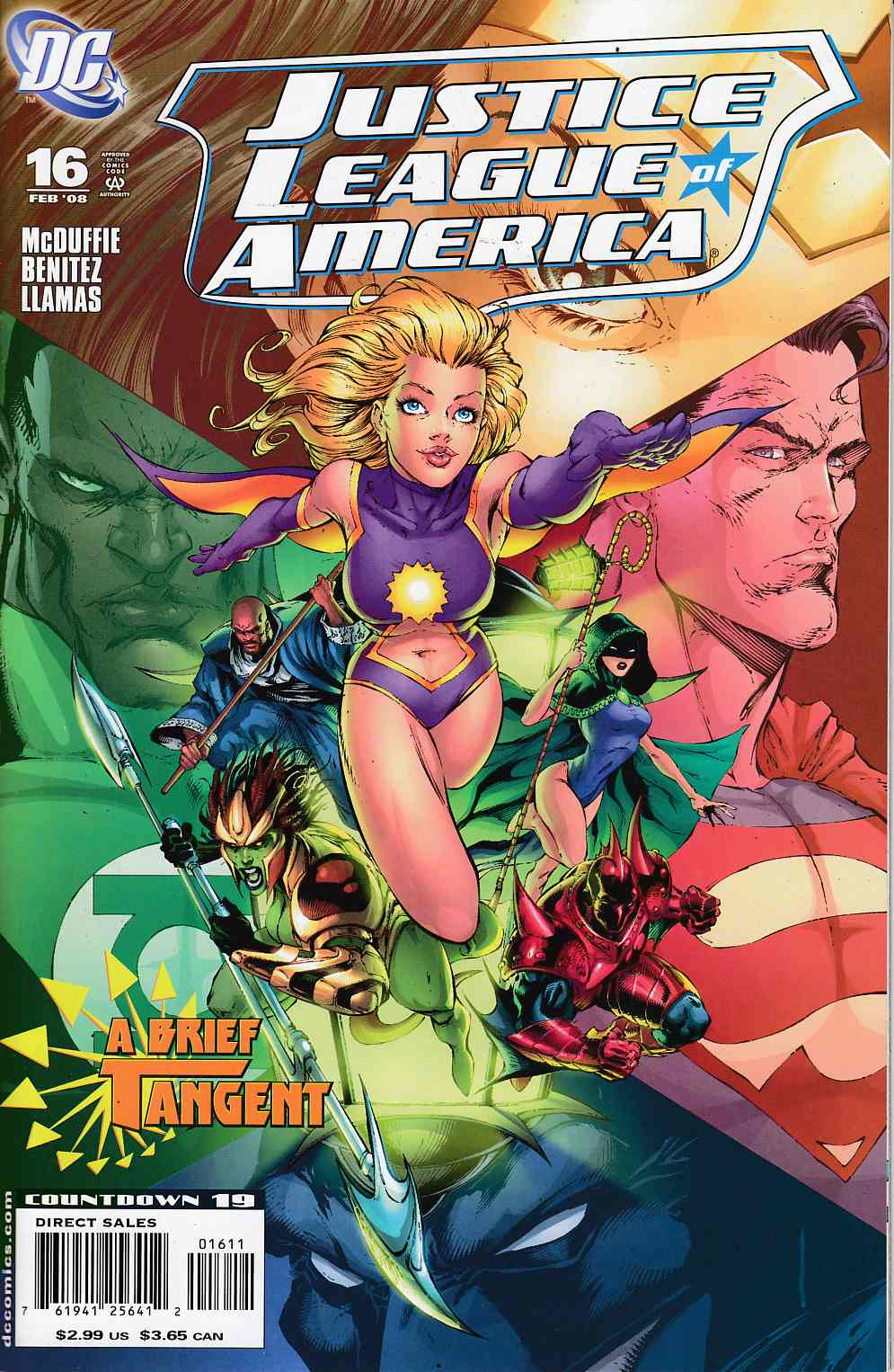 Justice League of America #16 Near MInt (9.4) [DC Comic]_THUMBNAIL