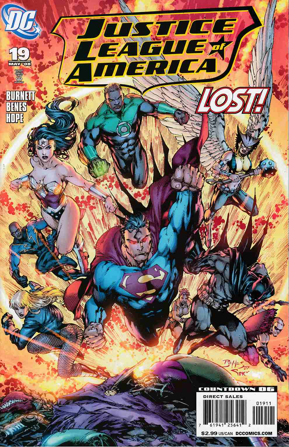 Justice League of America #19 Near Mint (9.4) [DC Comic]_THUMBNAIL