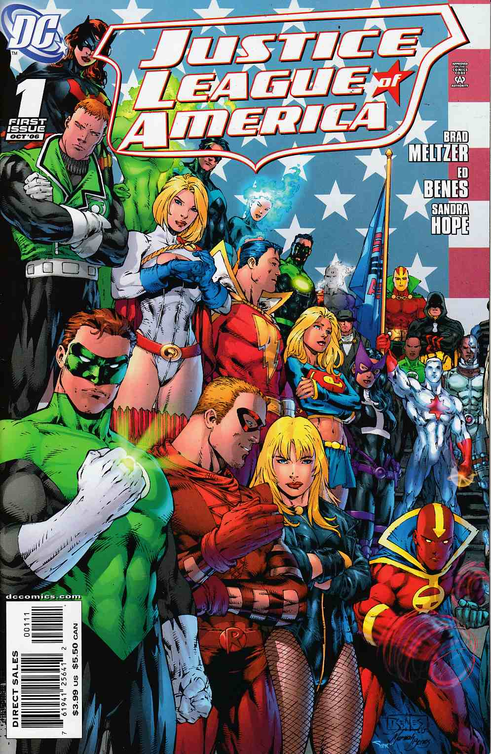 Justice League of America #1 Cover A Near Mint (9.4) [DC Comic] THUMBNAIL