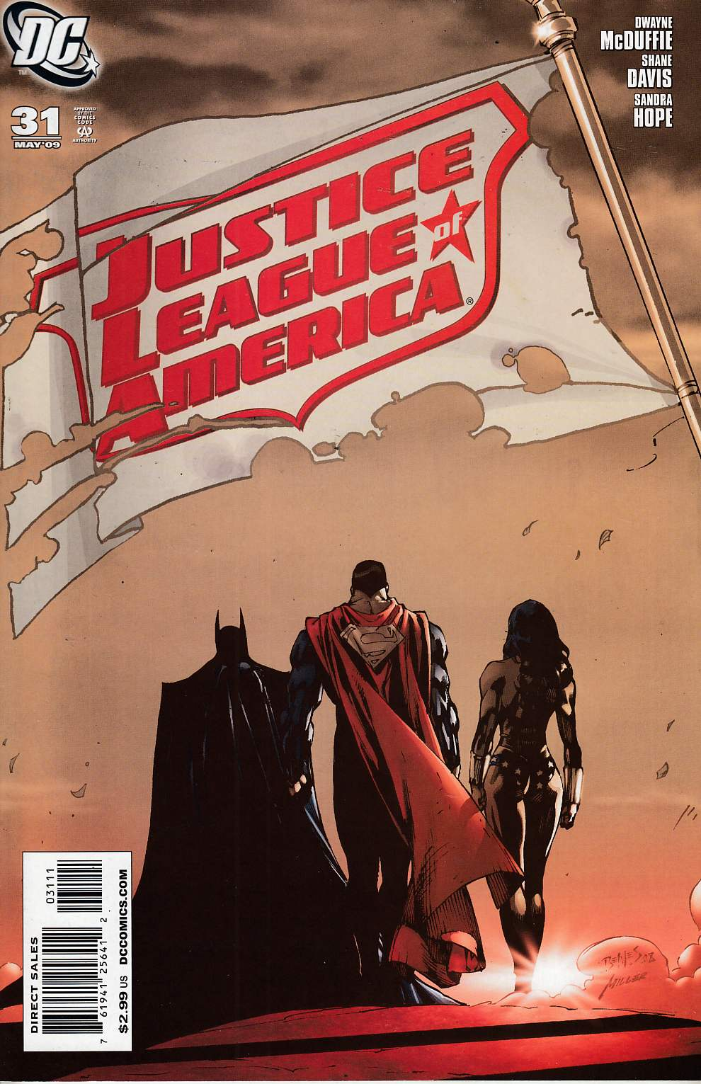 Justice League of America #31 Near Mint (9.4) [DC Comic] LARGE