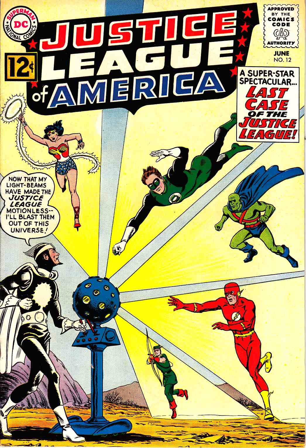 Justice League Of America #12 Fine/Very Fine (7.0) [DC Comic]_THUMBNAIL