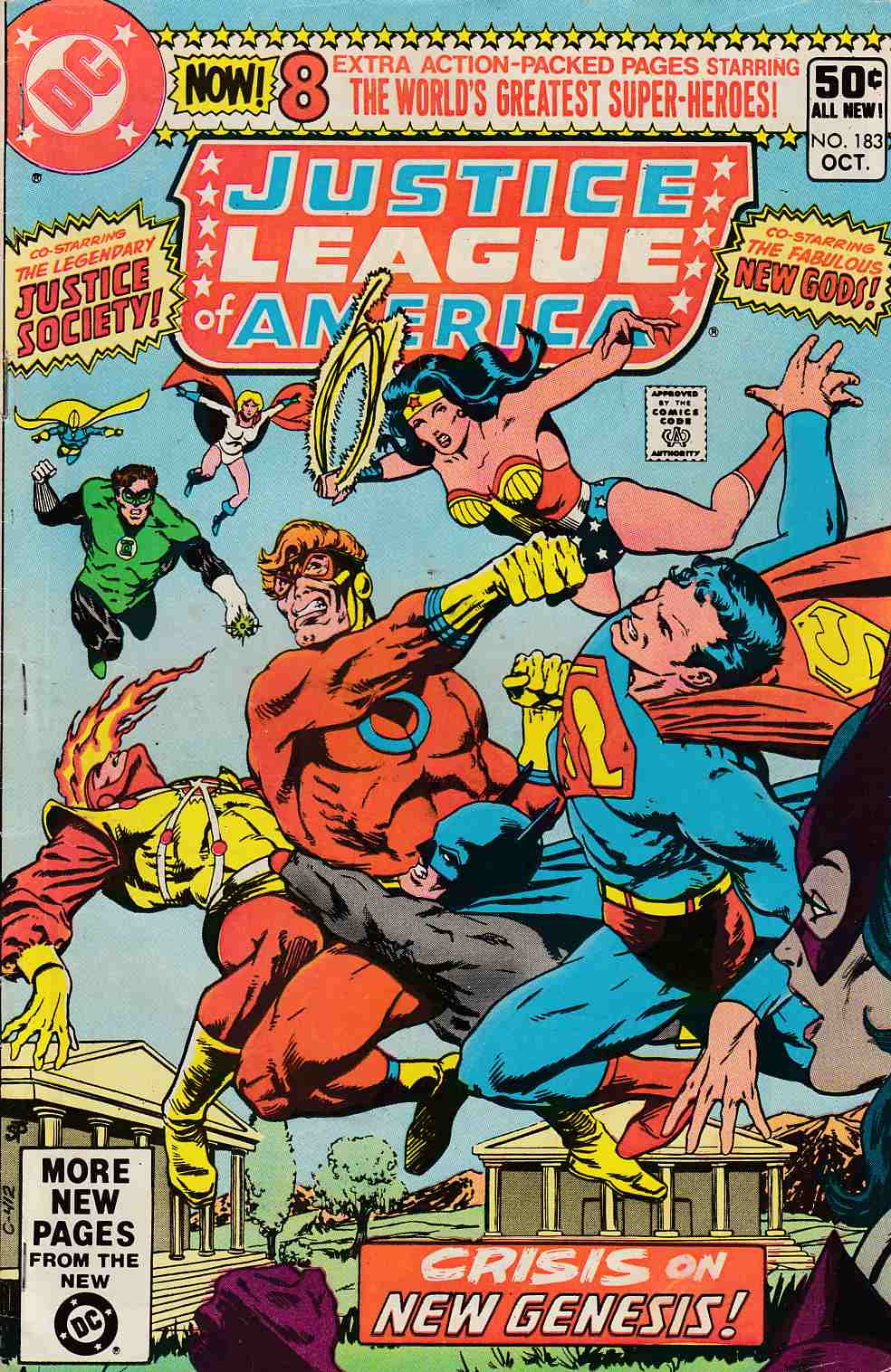 Justice League of America #183 Good (2.0) [DC Comic]_THUMBNAIL