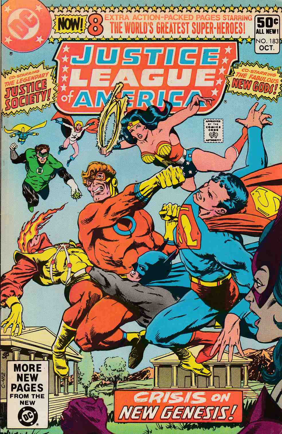 Justice League of America #183 Very Good Minus (3.5) [DC Comic]_THUMBNAIL