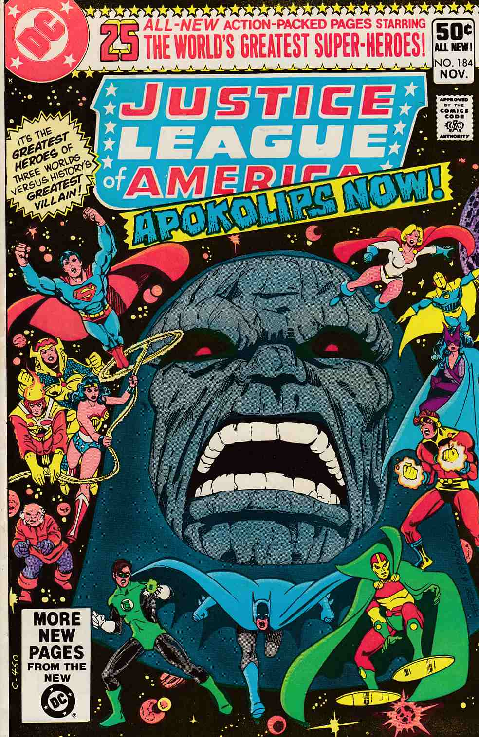 Justice League of America #184 Fine (6.0) [DC Comic]_THUMBNAIL