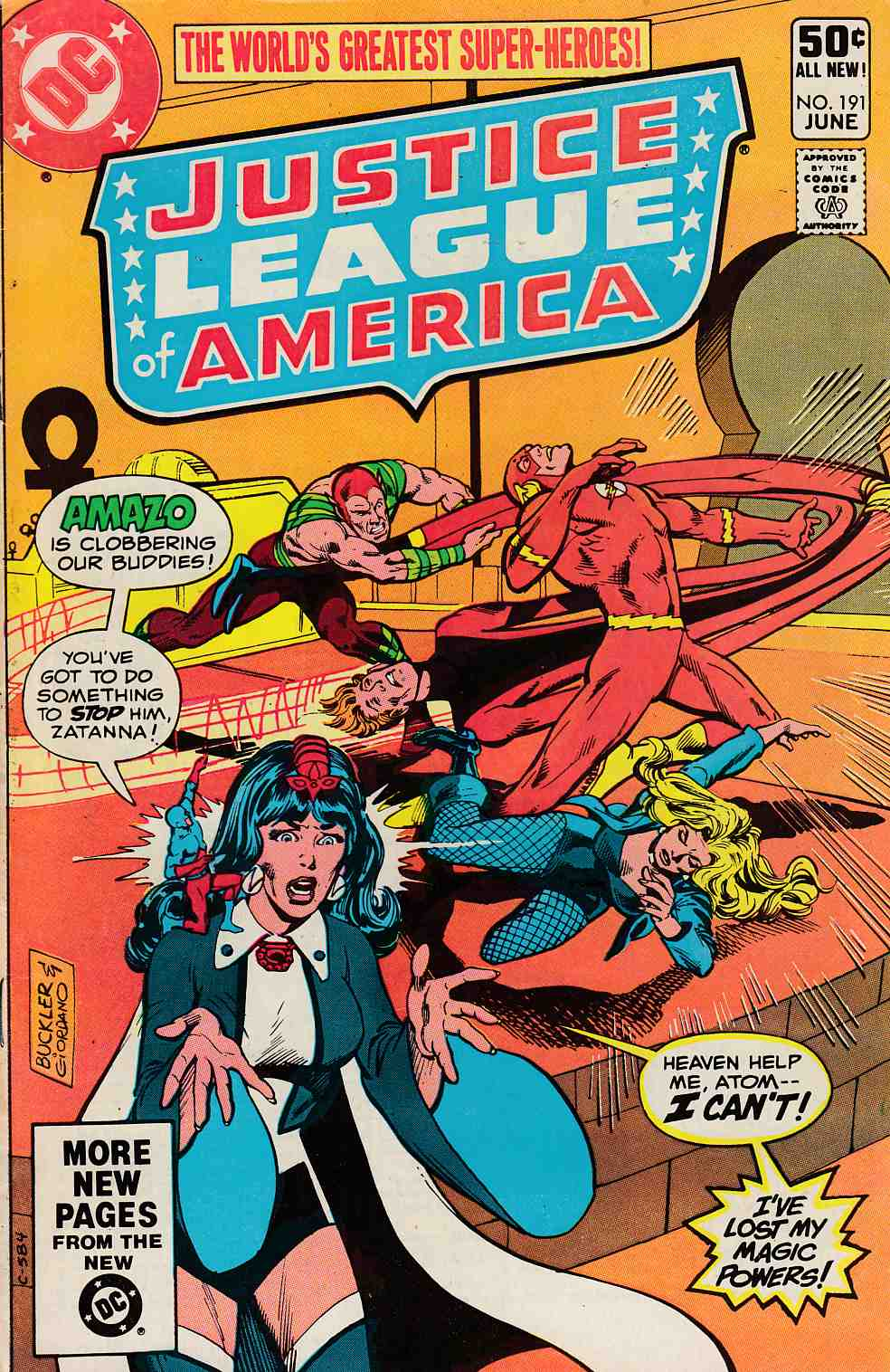 Justice League Of America #191 Very Good (4.0) [DC Comic]_THUMBNAIL