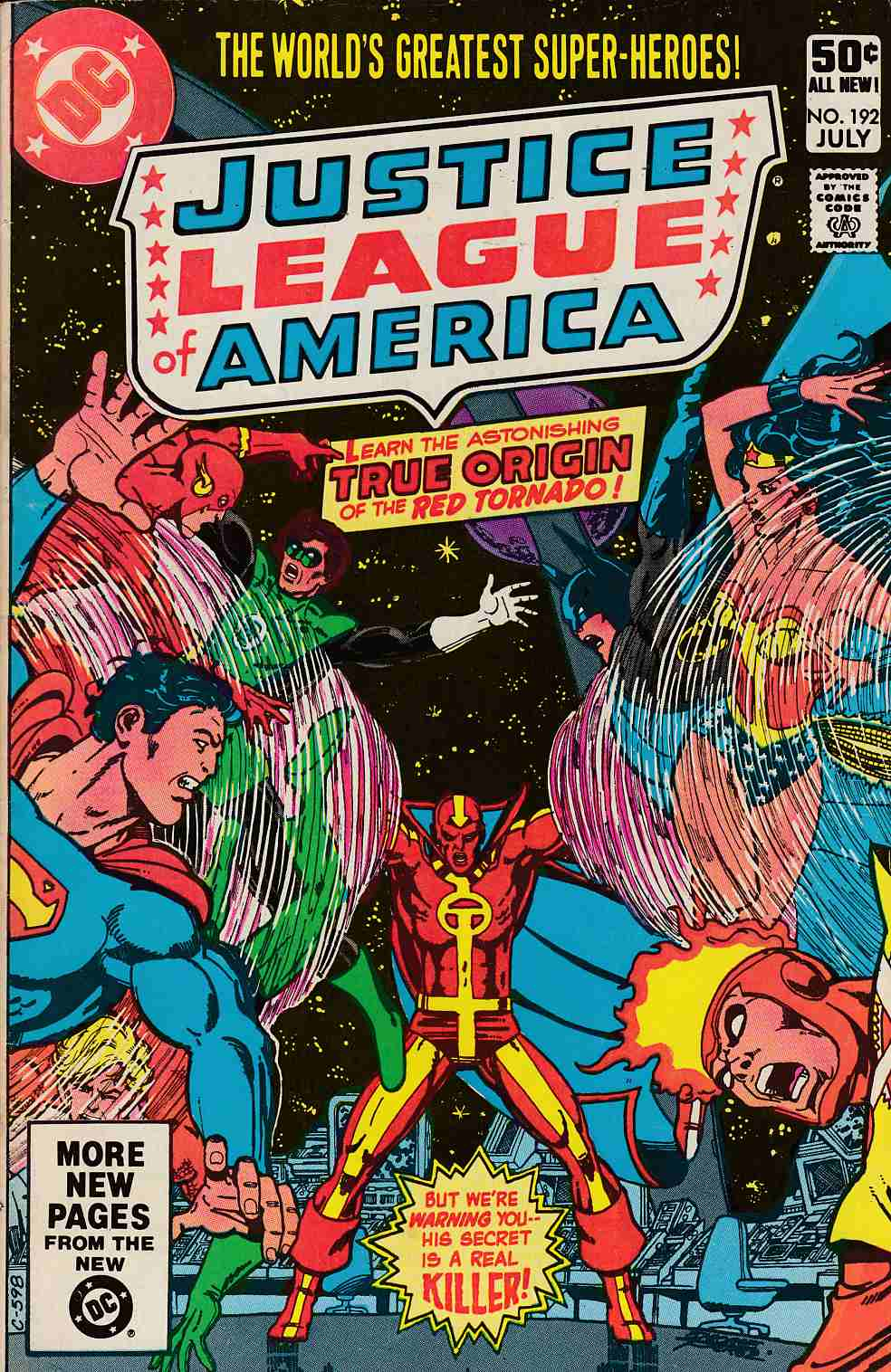 Justice League Of America #192 Fine (6.0) [DC Comic]_THUMBNAIL