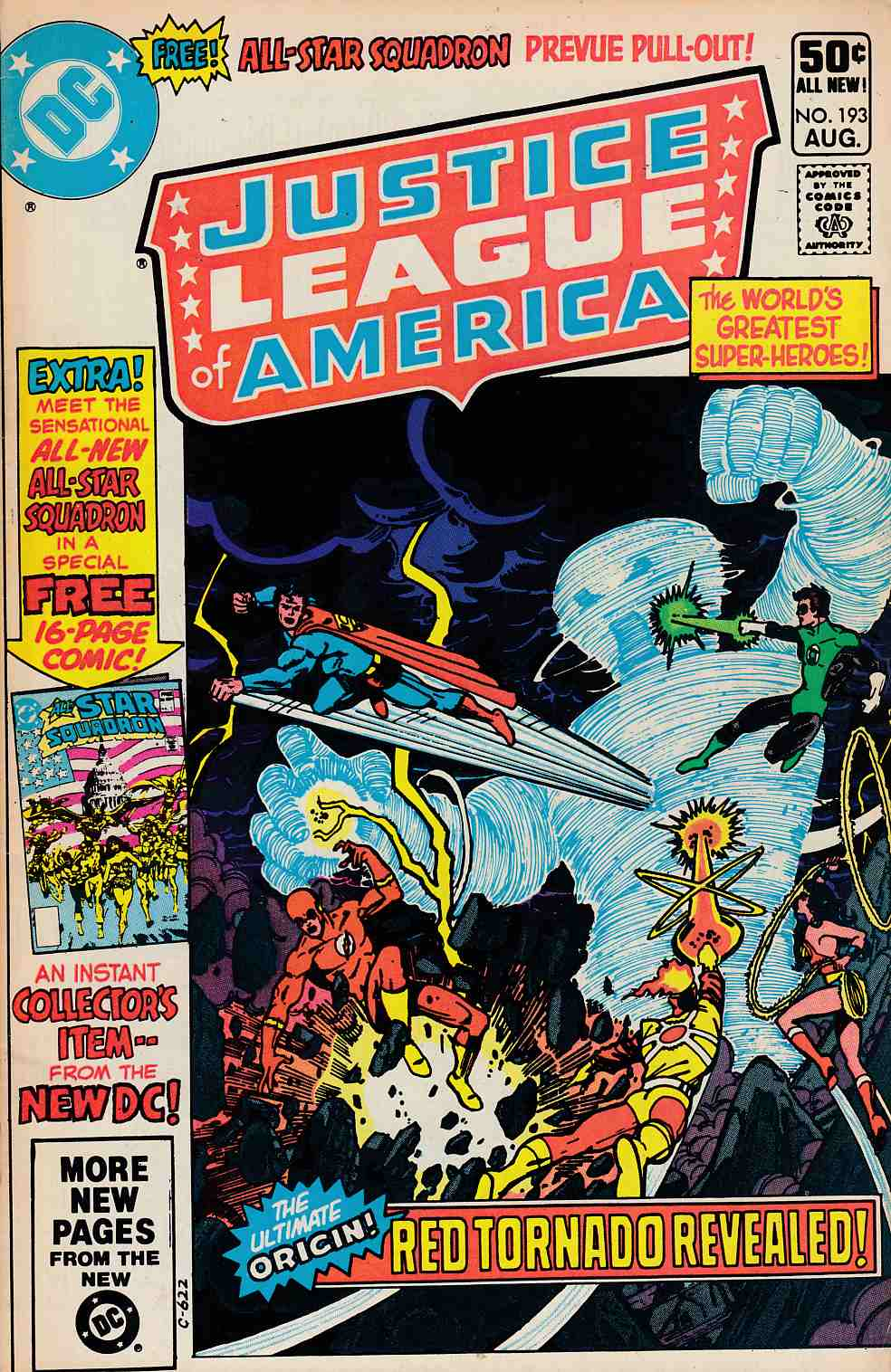 Justice League Of America #193 Fine (6.0) [DC Comic]_THUMBNAIL