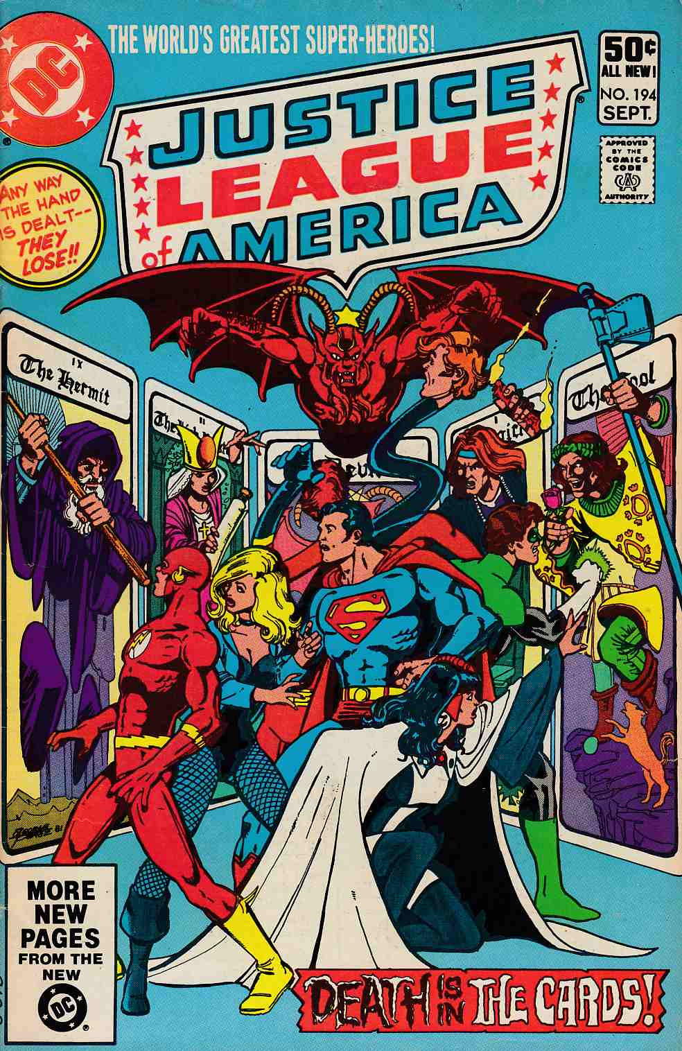 Justice League Of America #194 Fine (6.0) [DC Comic]_THUMBNAIL