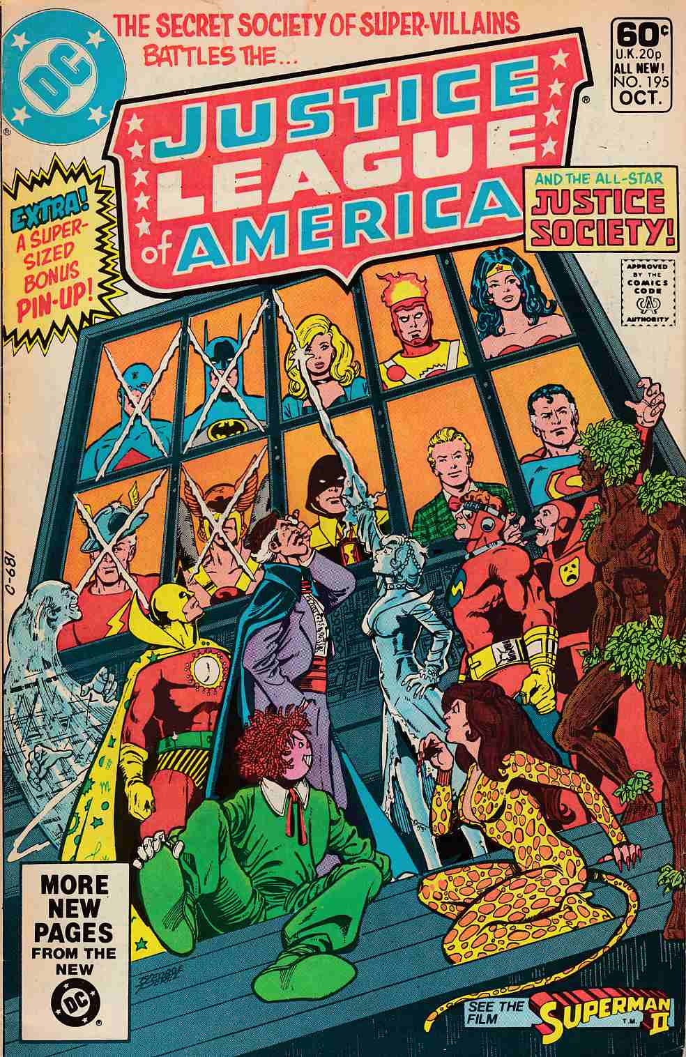 Justice League Of America #195 Very Good (4.0) [DC Comic]_THUMBNAIL
