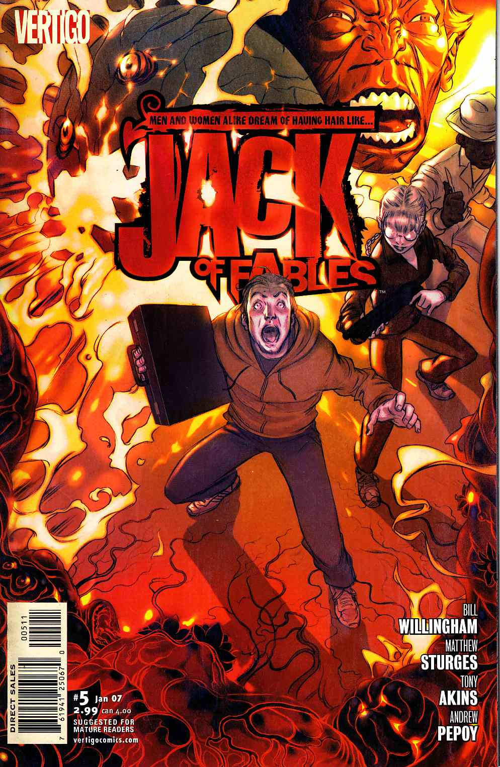 Jack of Fables #5 [DC Comic]_THUMBNAIL