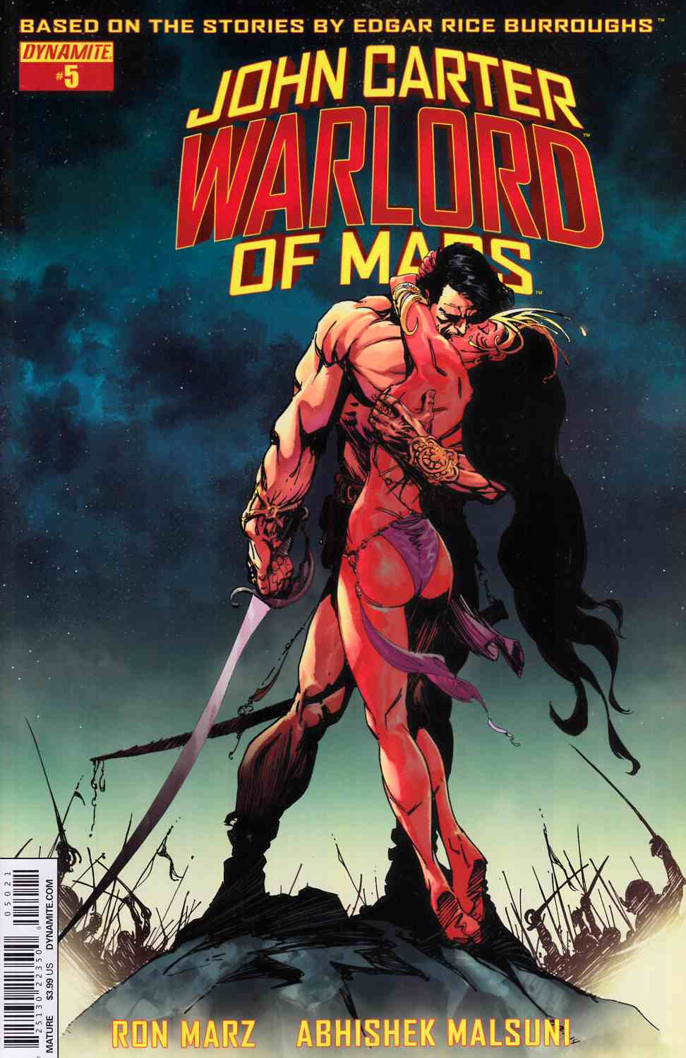 John Carter Warlord #5 Cover B- Sears [Dynamite Comic] THUMBNAIL