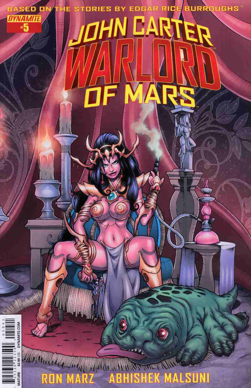 John Carter Warlord #5 Cover D- Subscription Cover [Dynamite Comic] THUMBNAIL