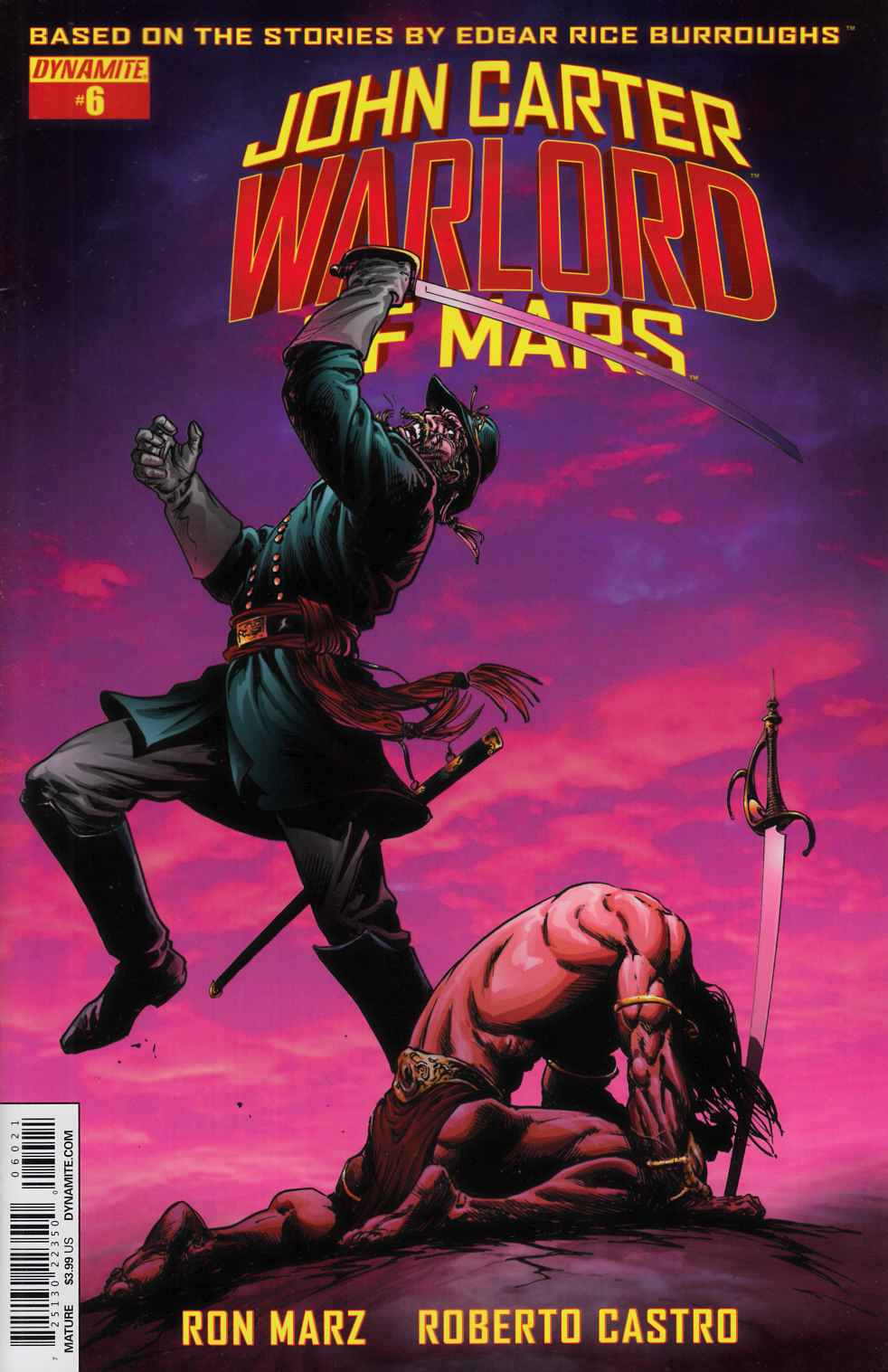 John Carter Warlord #6 Cover B- Sears [Dynamite Comic] THUMBNAIL