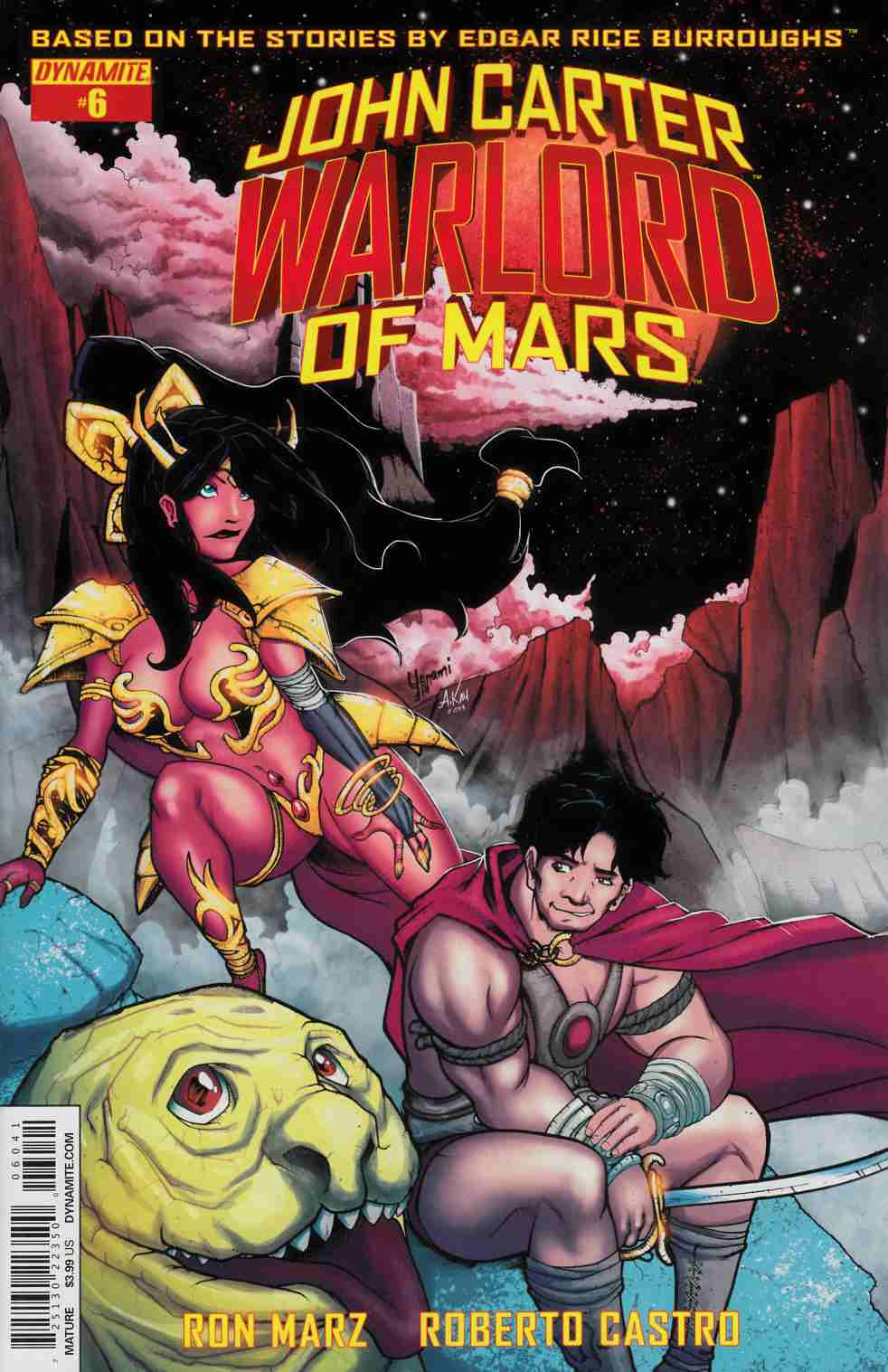 John Carter Warlord #6 Cover D- Subscription Cover [Dynamite Comic] THUMBNAIL