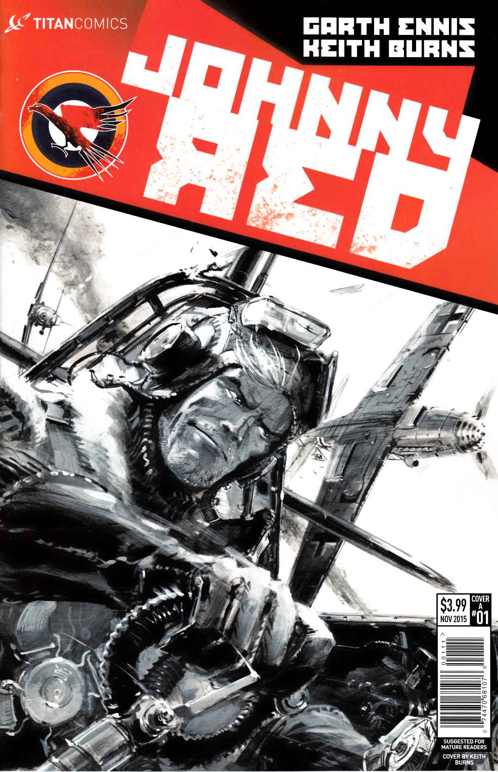Johnny Red #1 [Titan Comic] THUMBNAIL