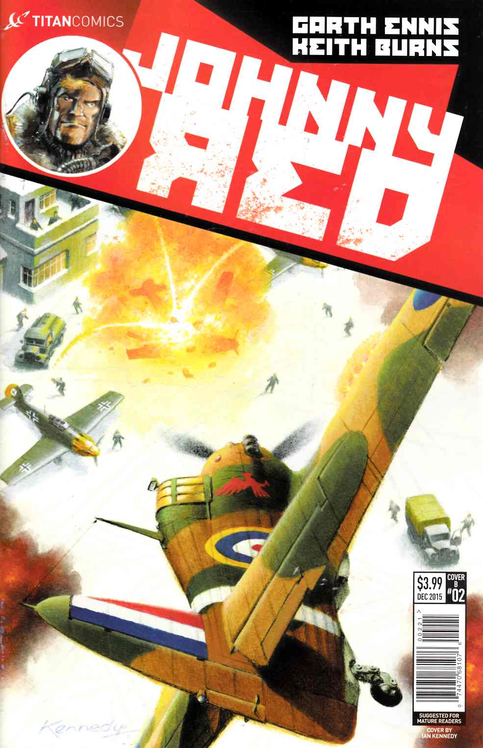 Johnny Red #2 Subscription Cover [Titan Comic]_THUMBNAIL