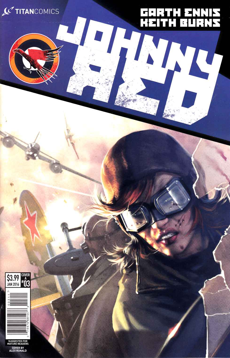 Johnny Red #3 [Titan Comic] THUMBNAIL