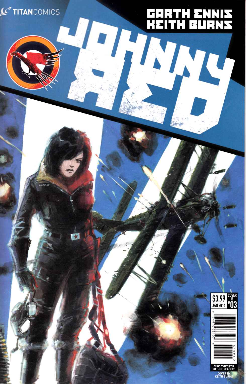 Johnny Red #3 Ronald Subscription Cover [Titan Comic] THUMBNAIL