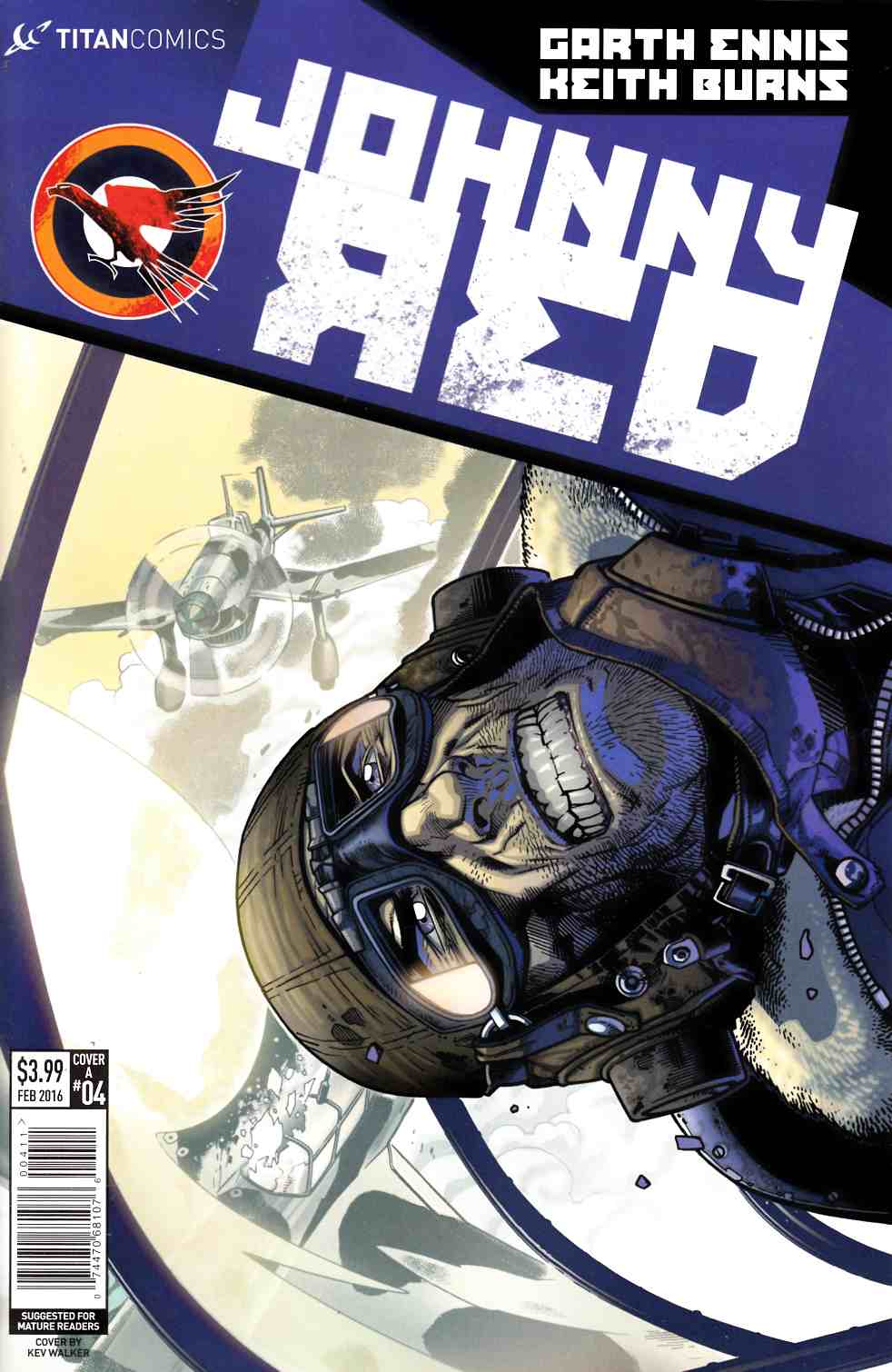 Johnny Red #4 Cover A- Walker [Titan Comic] THUMBNAIL