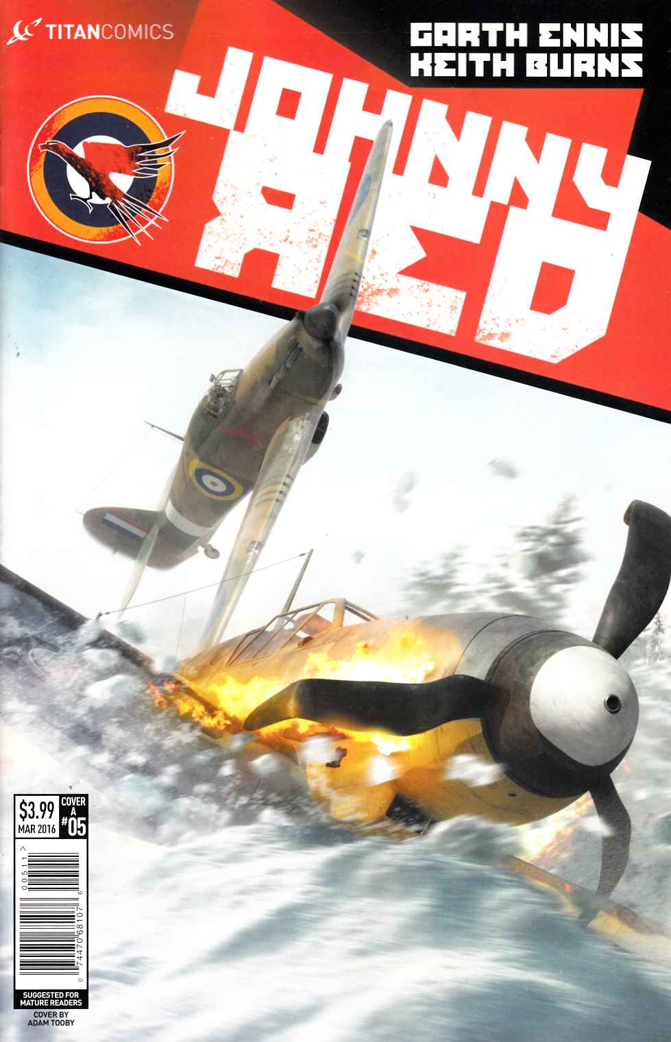 Johnny Red #5 Cover A- Burns [Titan Comic]_THUMBNAIL