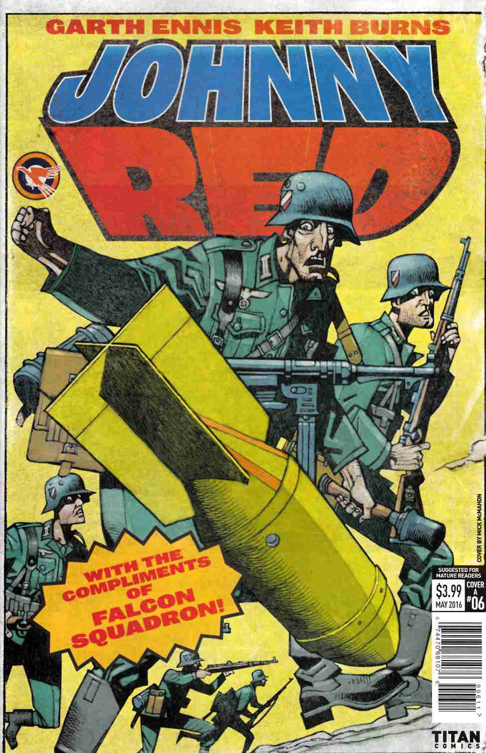 Johnny Red #6 Cover A [Titan Comic] THUMBNAIL