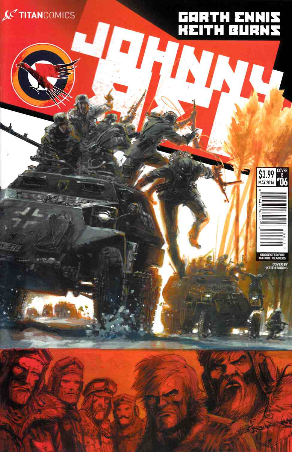 Johnny Red #6 Cover B [Titan Comic] THUMBNAIL