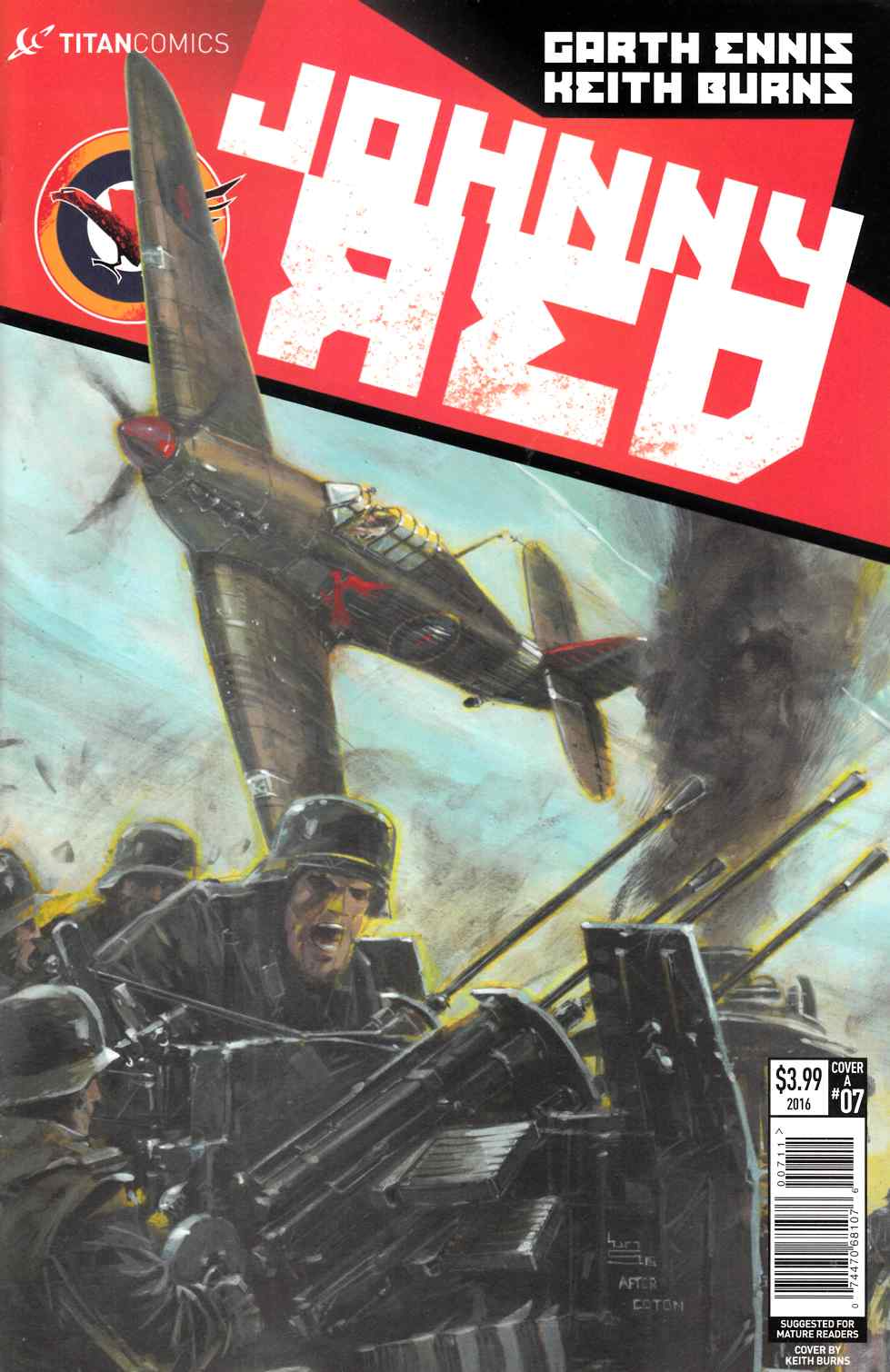 Johnny Red #7 Cover A [Titan Comic] LARGE