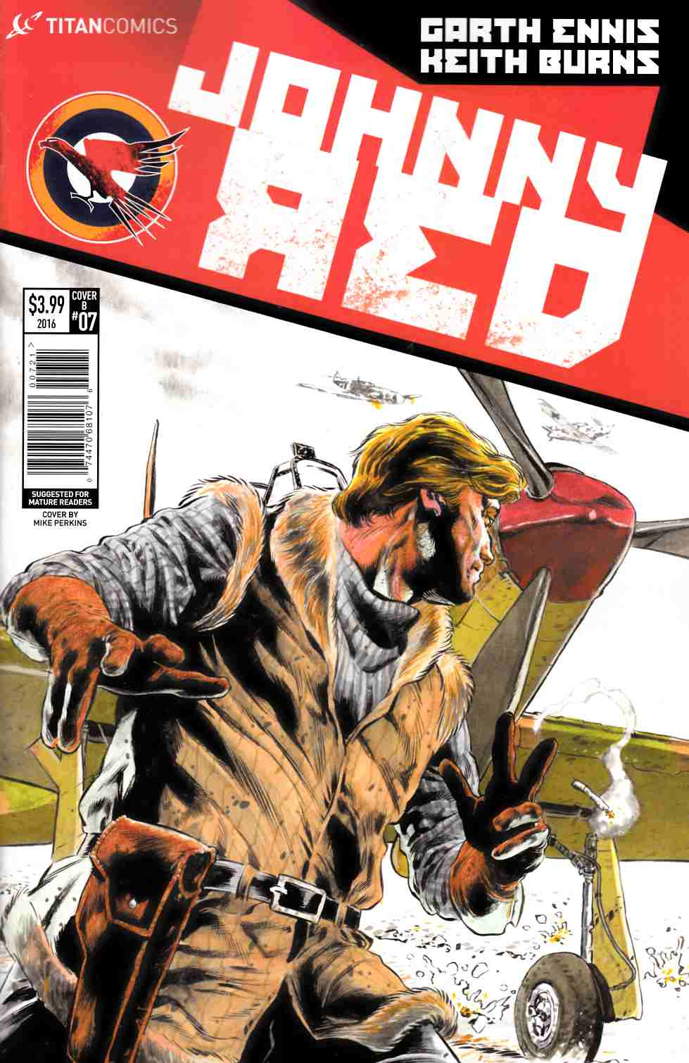 Johnny Red #7 Cover B [Titan Comic] LARGE