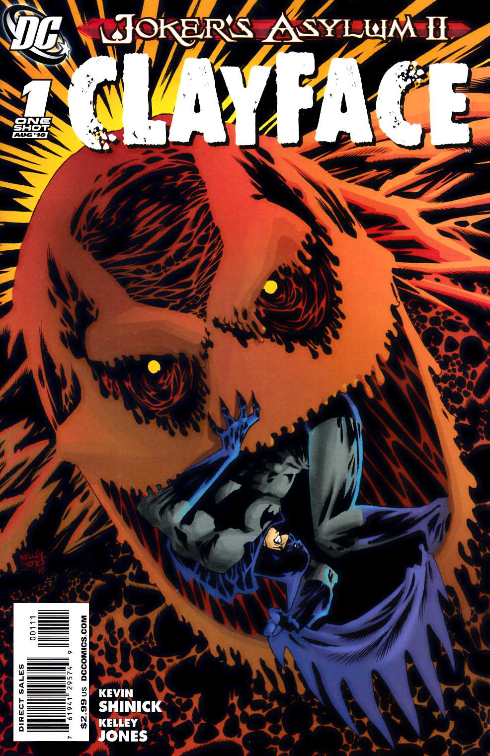 Jokers Asylum Clayface #1 [DC Comic]_THUMBNAIL
