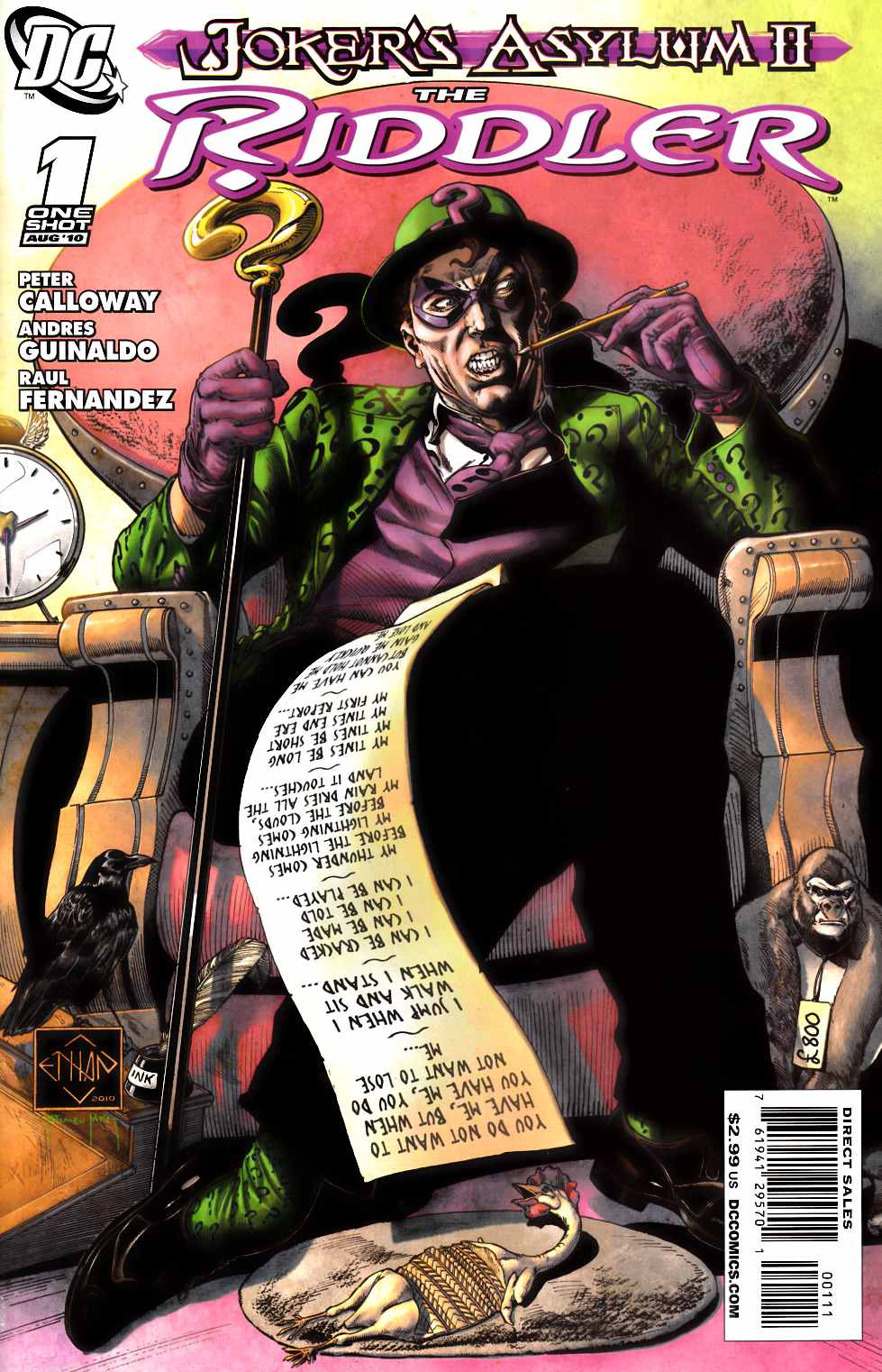 Jokers Asylum The Riddler #1 [DC Comic]_THUMBNAIL