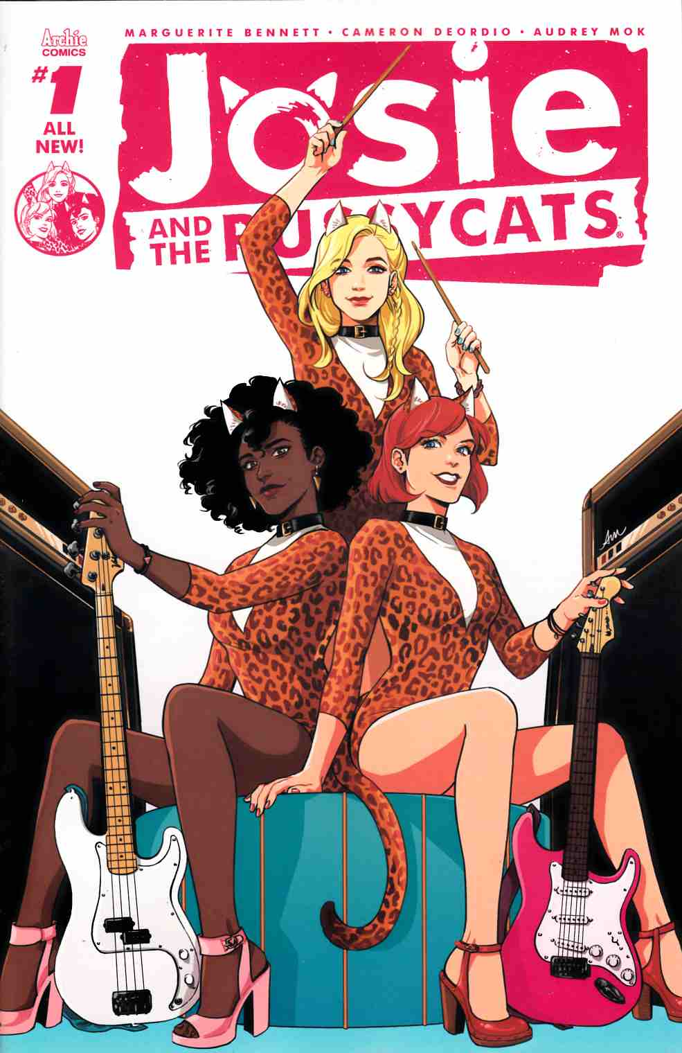 Josie & the Pussycats #1 Cover A [Archie Comic]