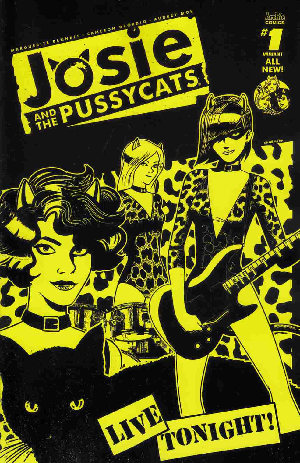 Josie & the Pussycats #1 Cover B [Archie Comic]
