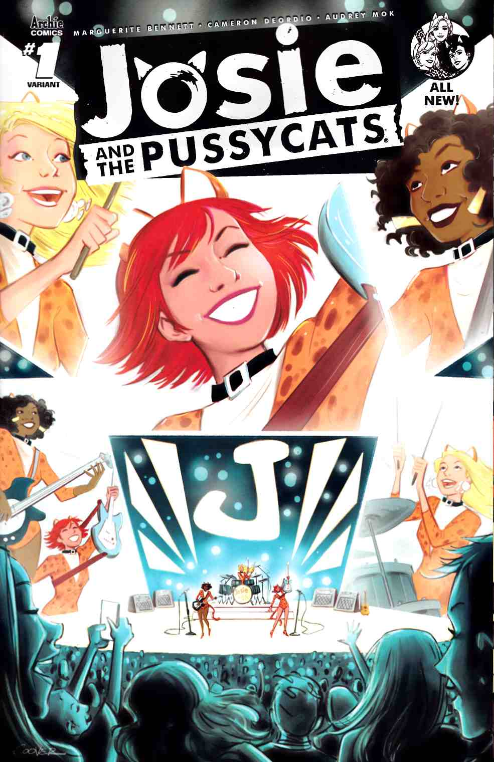 Josie & the Pussycats #1 Cover C [Archie Comic]