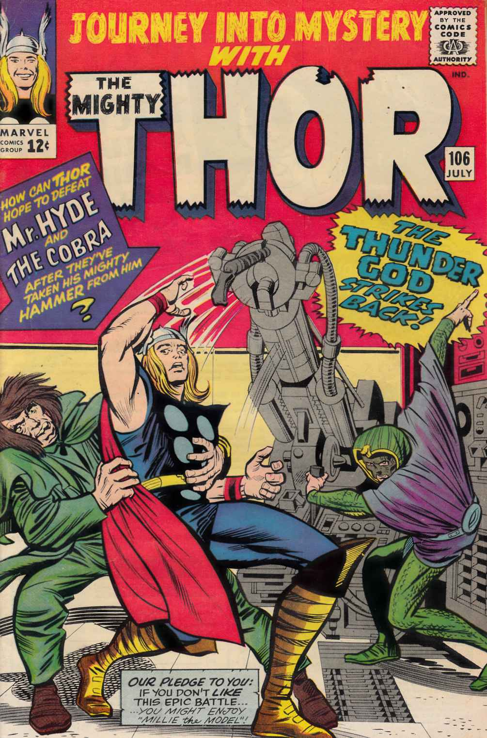 Journey Into Mystery Thor #106 Very Good Plus (4.5) [Marvel Comic] THUMBNAIL