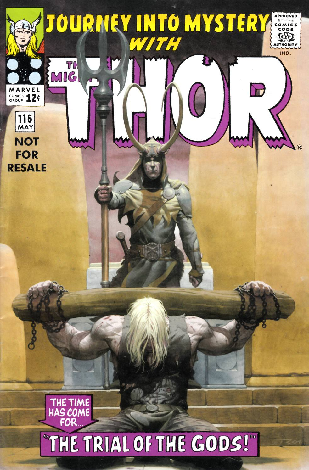 Journey Into Mystery Thor #116 Marvel Legends Reprint Very Good (4.0) [Marvel Comic] THUMBNAIL