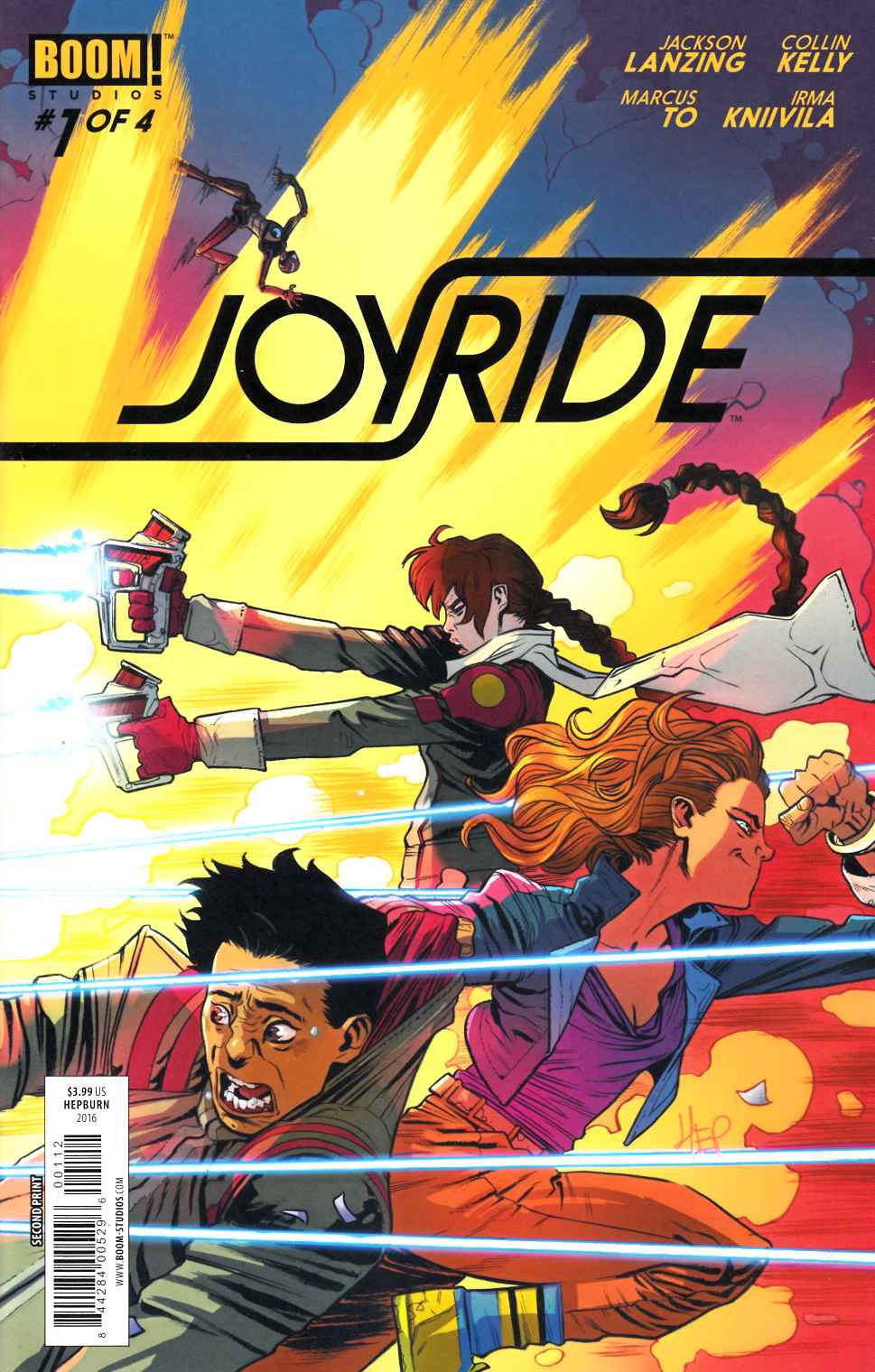 Joyride #1 Second Printing [Boom Comic] THUMBNAIL
