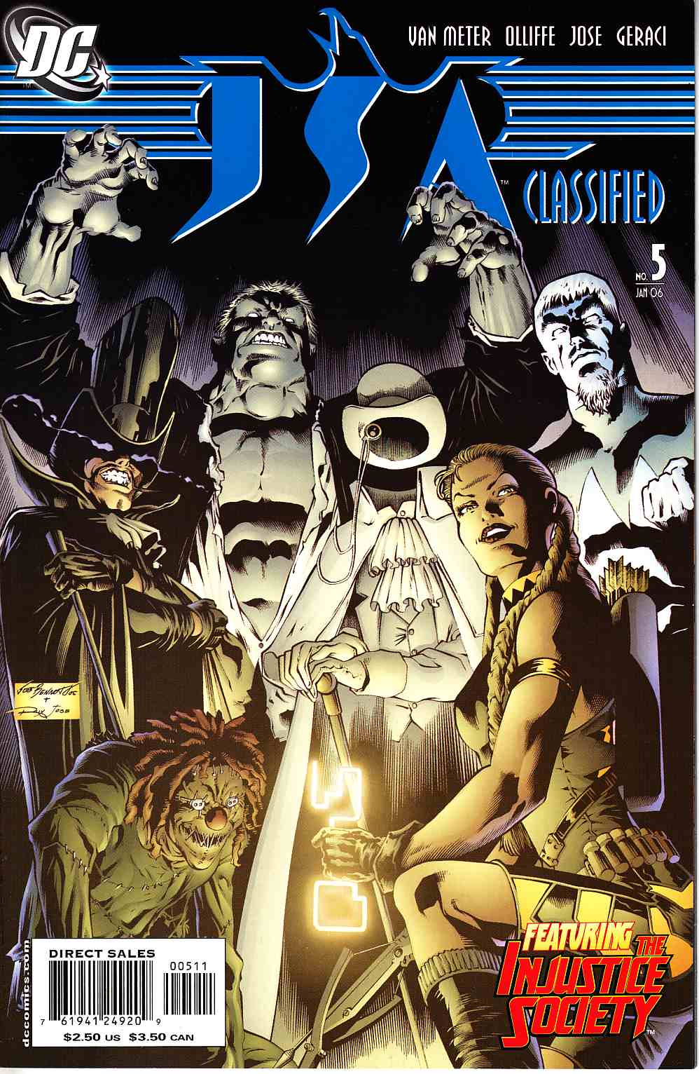JSA Classified #5 [DC Comic] THUMBNAIL