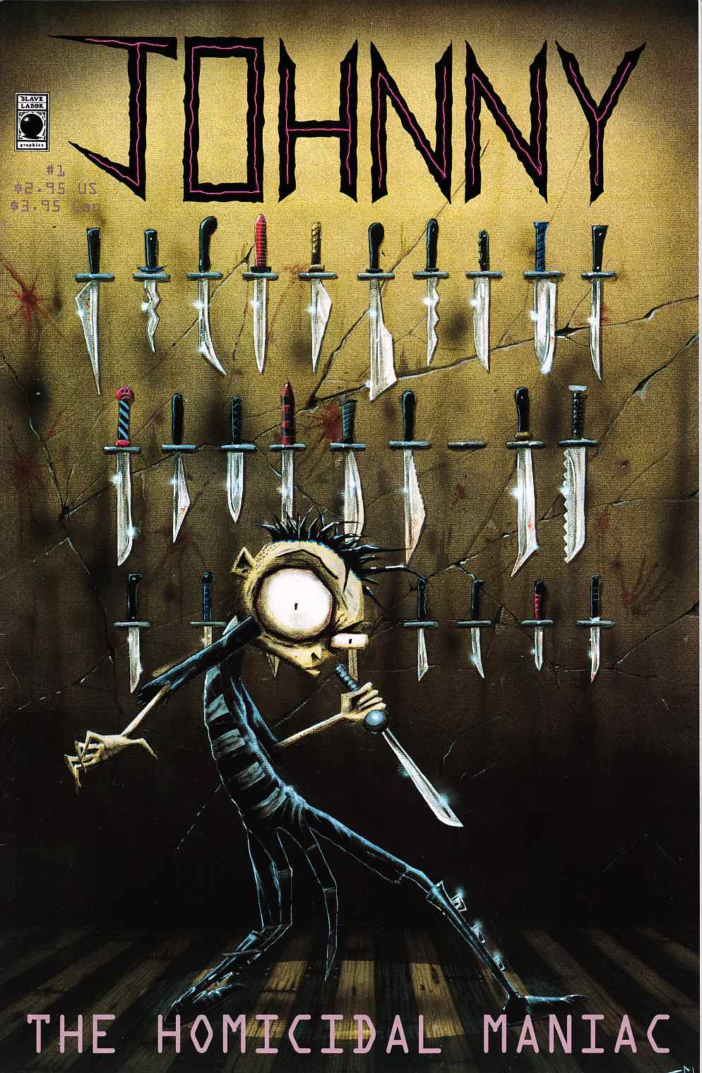 Johnny The Homicidal Maniac #1 11th Printing [Slave Labor Comic] LARGE