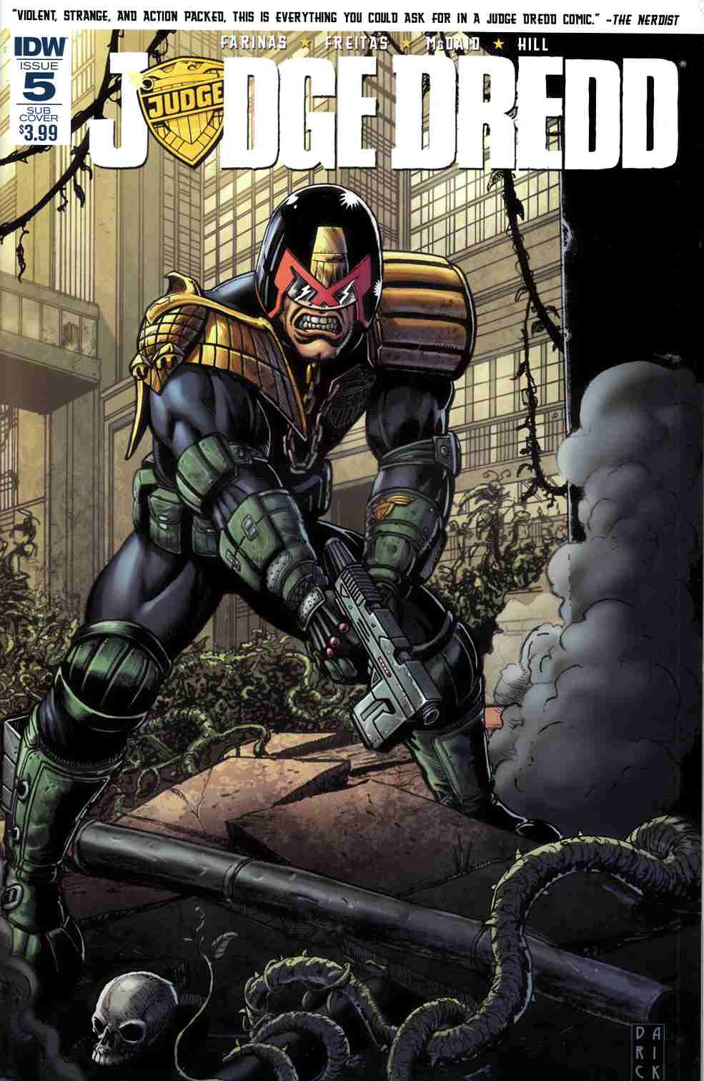 Judge Dredd #5 Subscription Cover [IDW Comic] THUMBNAIL