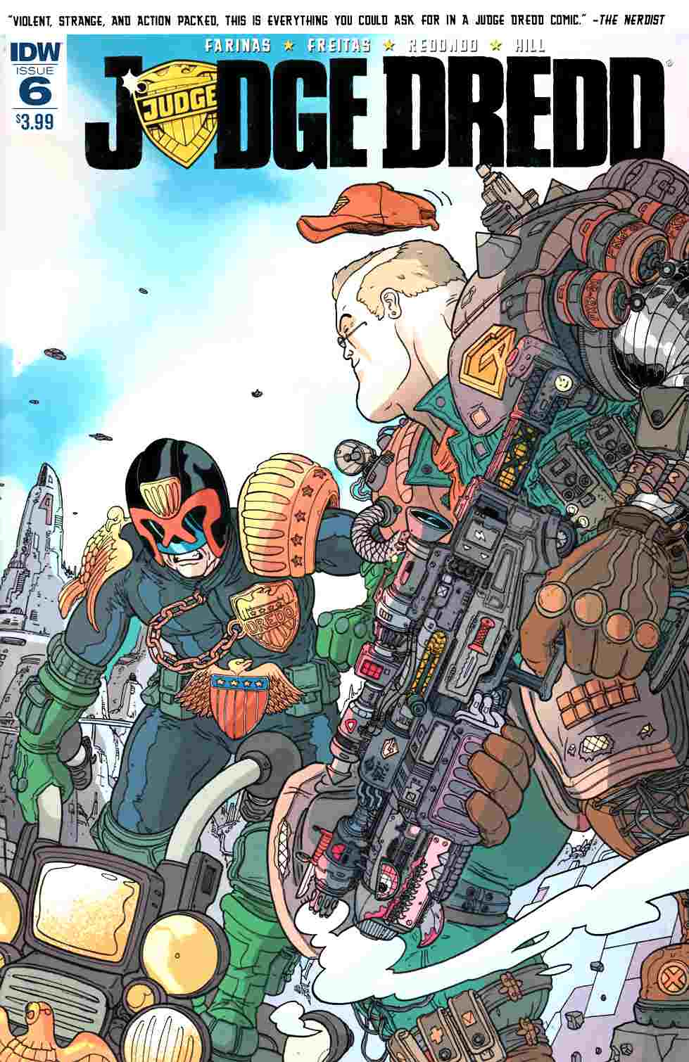 Judge Dredd (Ongoing) #6 [IDW Comic] LARGE