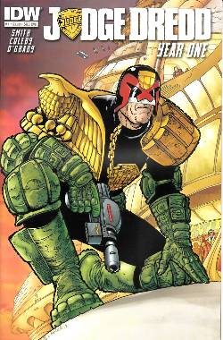 Judge Dredd Year One #1 Subscription Cover [Comic] LARGE
