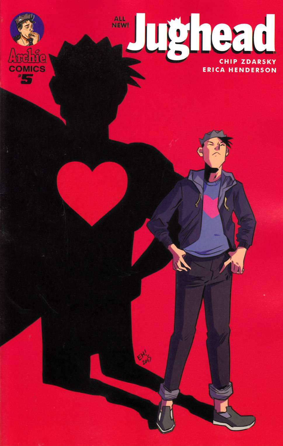 Jughead #5 Cover A [Archie Comic] LARGE