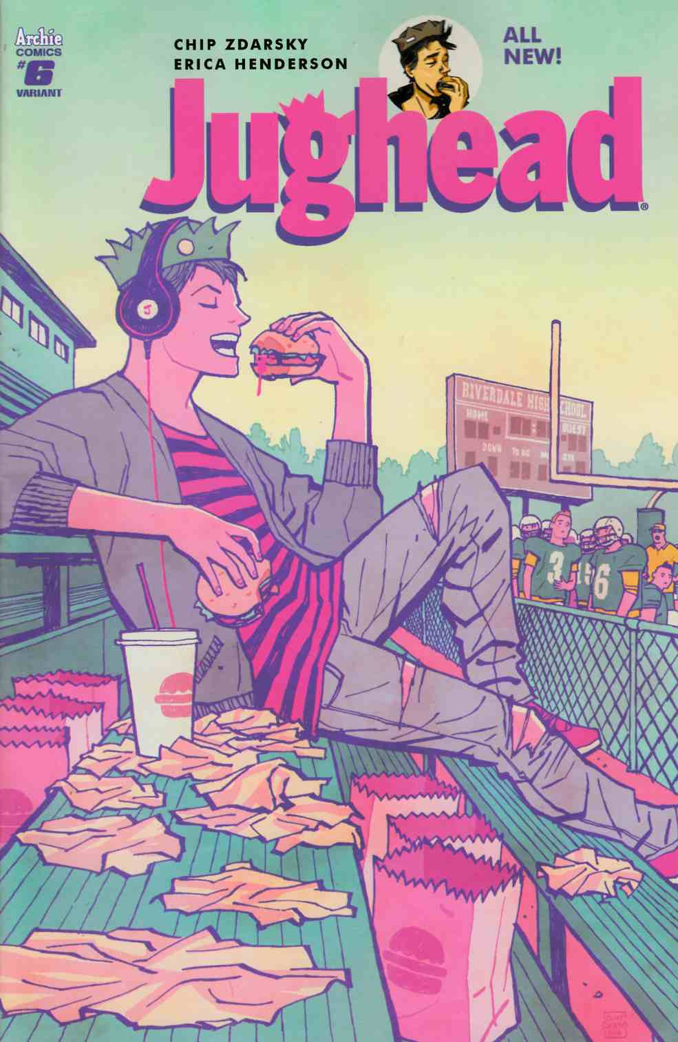 Jughead #6 Cover B [Archie Comic] LARGE