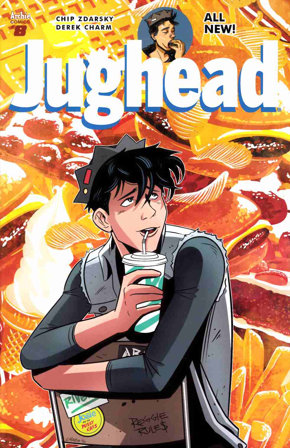 Jughead #8 Cover A [Archie Comic] LARGE